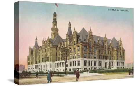 City Hall, St. Louis, Missouri--Stretched Canvas Print