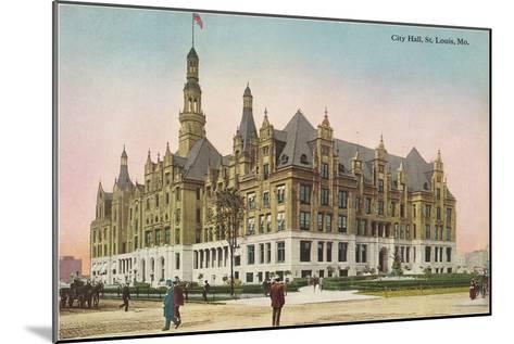 City Hall, St. Louis, Missouri--Mounted Art Print