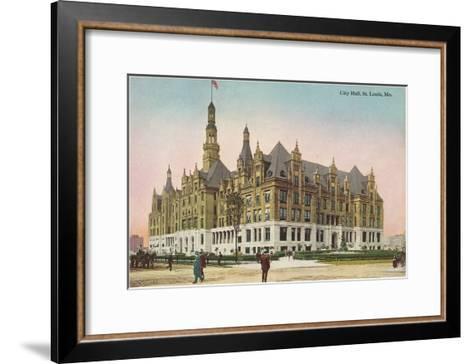 City Hall, St. Louis, Missouri--Framed Art Print