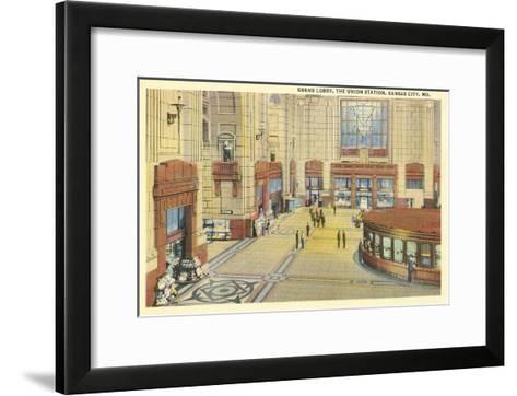 Grand Lobby, Union Station, Kansas City, Missouri--Framed Art Print