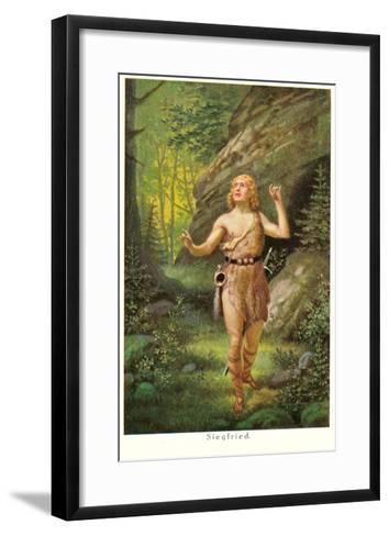 Siegfried--Framed Art Print