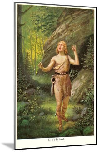 Siegfried--Mounted Art Print