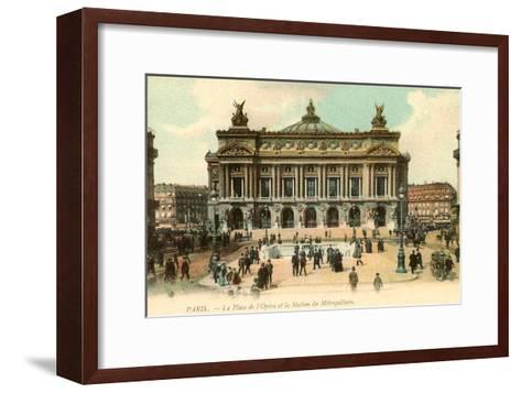 Paris Opera House, France--Framed Art Print