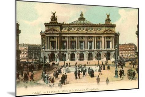 Paris Opera House, France--Mounted Art Print