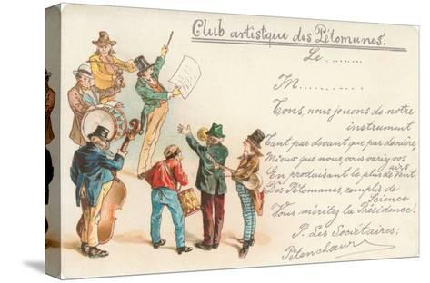 Artistic Old Farts Club, French Musicians--Stretched Canvas Print