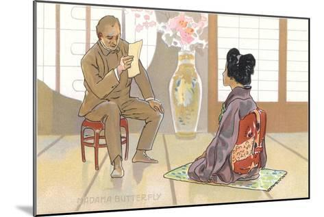 Scene from Madame Butterfly--Mounted Art Print