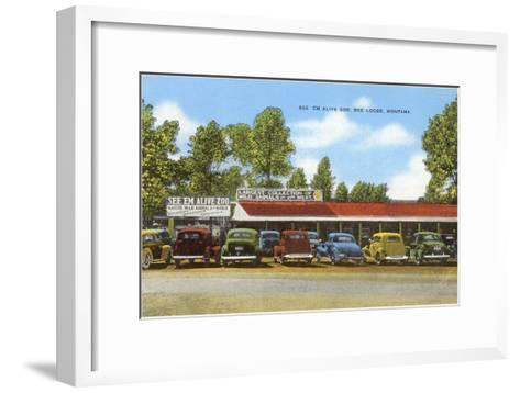 See 'Em Alive Zoo, Red Lodge, Montana--Framed Art Print