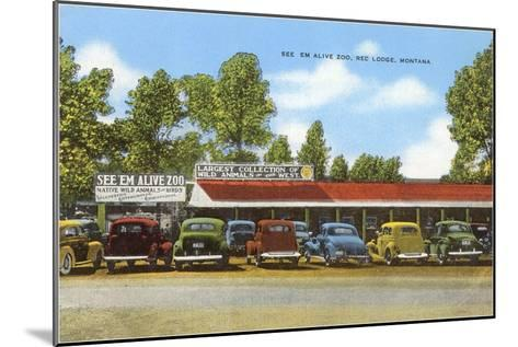 See 'Em Alive Zoo, Red Lodge, Montana--Mounted Art Print