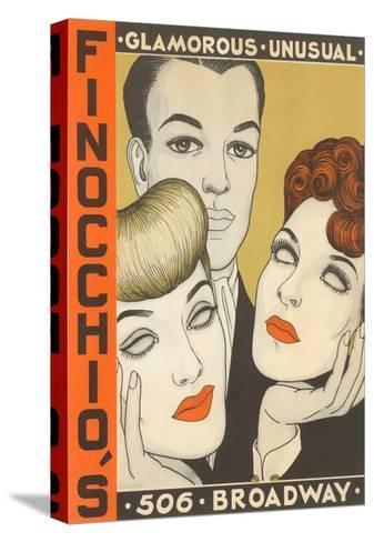 Finocchio's Show Advertisement--Stretched Canvas Print