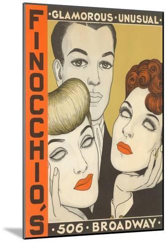 Finocchio's Show Advertisement--Mounted Art Print