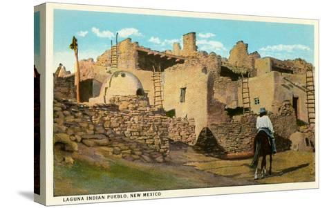 Laguna Pueblo, New Mexico--Stretched Canvas Print