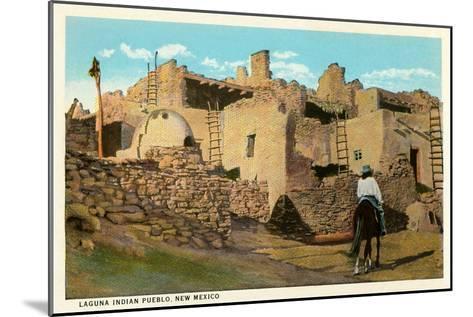 Laguna Pueblo, New Mexico--Mounted Art Print