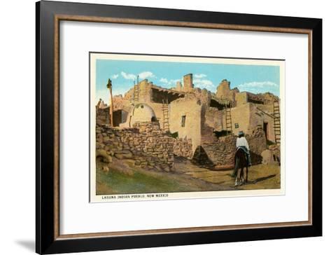 Laguna Pueblo, New Mexico--Framed Art Print
