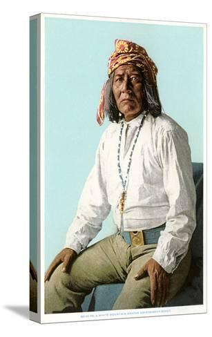 White Mountain Apache Government Scout--Stretched Canvas Print