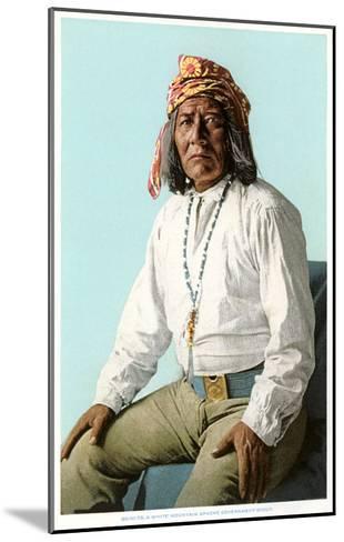 White Mountain Apache Government Scout--Mounted Art Print