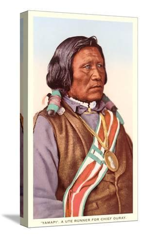 Yamapi, Ute Indian--Stretched Canvas Print