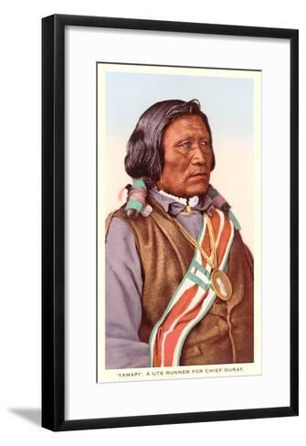 Yamapi, Ute Indian--Framed Art Print