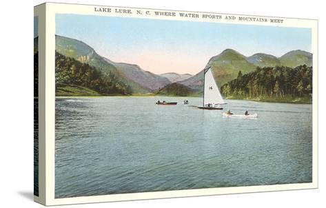 Lake Lure, North Carolina--Stretched Canvas Print