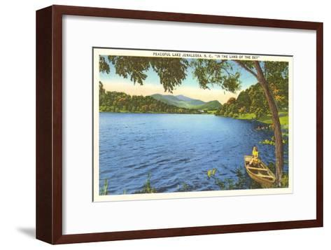 Lake Junaluska, North Carolina--Framed Art Print