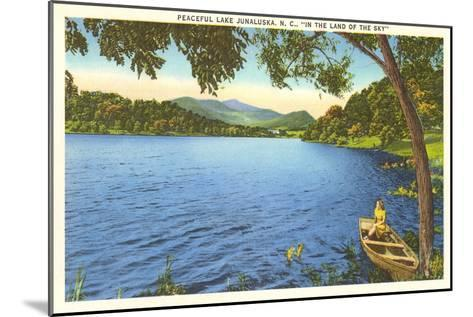 Lake Junaluska, North Carolina--Mounted Art Print