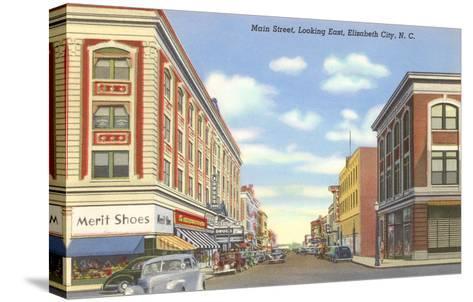 Main Street, Elizabeth City, North Carolina--Stretched Canvas Print