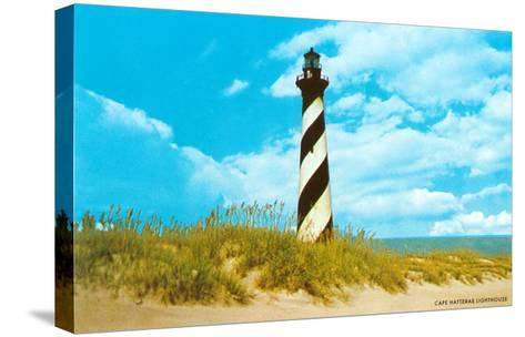 Cape Hatteras Lighthouse, North Carolina--Stretched Canvas Print