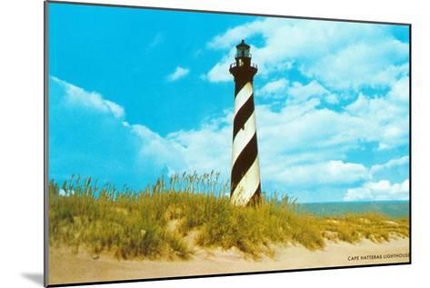 Cape Hatteras Lighthouse, North Carolina--Mounted Art Print