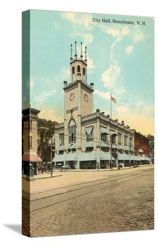 City Hall, Manchester, New Hampshire--Stretched Canvas Print
