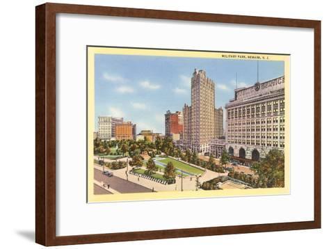 Military Park, Newark, New Jersey--Framed Art Print