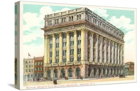 Mutual Benefit Life Building, Newark, New Jersey--Stretched Canvas Print