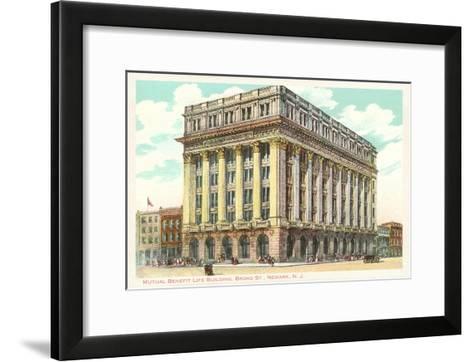 Mutual Benefit Life Building, Newark, New Jersey--Framed Art Print
