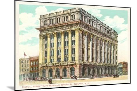 Mutual Benefit Life Building, Newark, New Jersey--Mounted Art Print