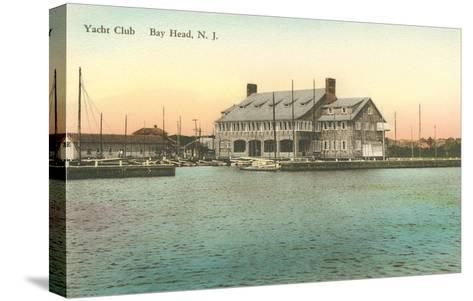 Yacht Club, Bay Head, New Jersey--Stretched Canvas Print