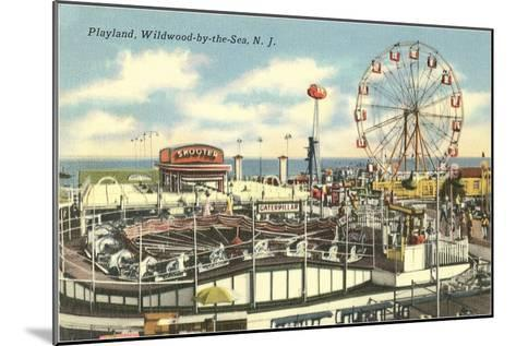 Playland, Wildwood-by-the-Sea, New Jersey--Mounted Art Print