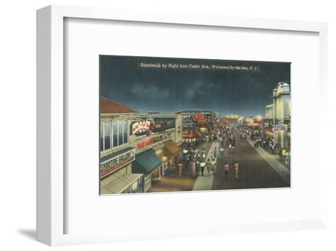 Wildwood-by-the-Sea, New Jersey--Framed Art Print