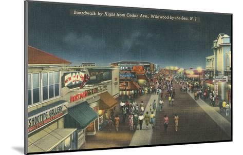 Wildwood-by-the-Sea, New Jersey--Mounted Art Print