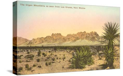 Organ Mountains, Las Cruces, New Mexico--Stretched Canvas Print