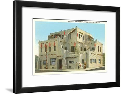 Wright's Trading Post, Albuquerque, New Mexico--Framed Art Print