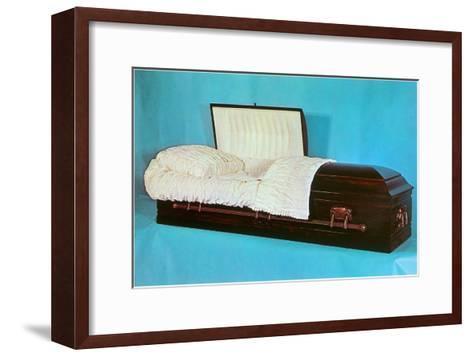 Comfy Casket--Framed Art Print