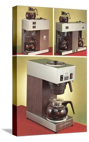 Automatic Coffee Makers--Stretched Canvas Print