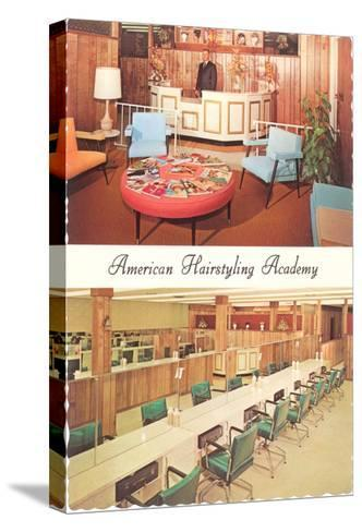 American Hairstyling Academy--Stretched Canvas Print