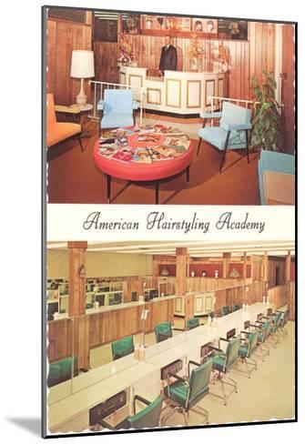 American Hairstyling Academy--Mounted Art Print