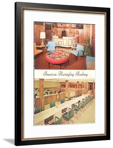 American Hairstyling Academy--Framed Art Print