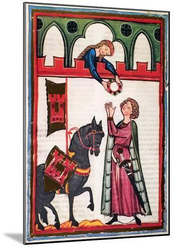 Minnesinger Lieder--Mounted Giclee Print