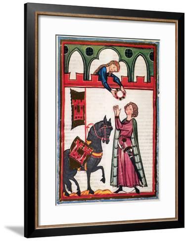 Minnesinger Lieder--Framed Art Print