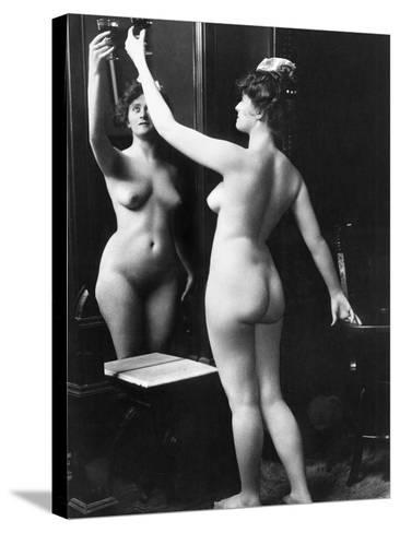 Prostitution, C1900-Fritz W. Guerin-Stretched Canvas Print