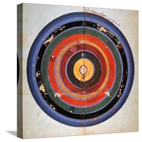 Pre-Copernican Universe-Johann Tolhopf-Stretched Canvas Print