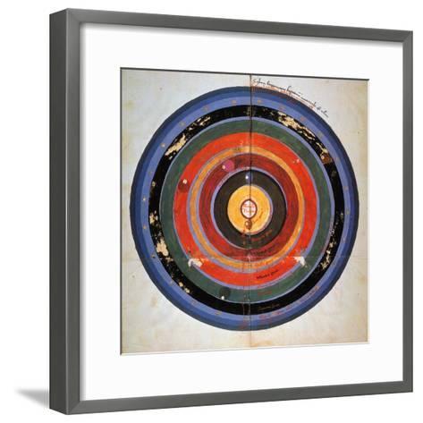 Pre-Copernican Universe-Johann Tolhopf-Framed Art Print