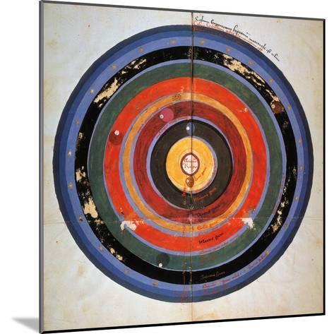 Pre-Copernican Universe-Johann Tolhopf-Mounted Giclee Print