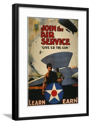 World War I: Air Service--Framed Art Print